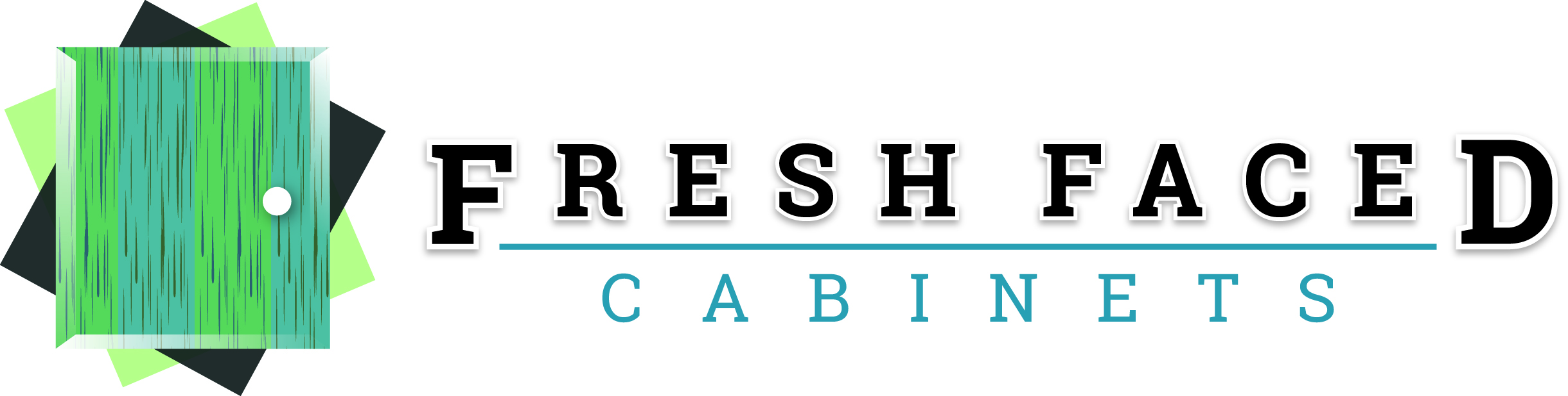Fresh Faced Cabinets Logo